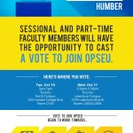 thumbnail of OPSEU – CAAT(A) – Vote OPSEU – Poster – Humber [2656]
