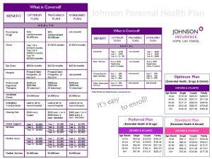 thumbnail of PTS – Johnson Personal Health Plan
